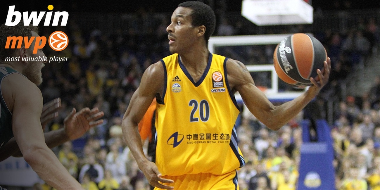 Top 16 Round 13 bwin MVP: Alex Renfroe, ALBA Berlin
