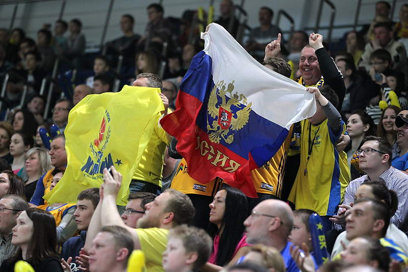 Fans - Khimki Moscow Region - EC14 (photo Khimki - Nikolay Kondakov)