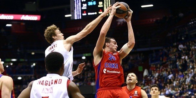 Top 16 Round 14 report: CSKA routs Milan to take first place in Group F