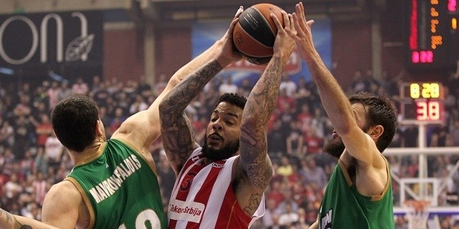 Top 16 Round 14 report: Marjanovic lifts Zvezda past Panathinaikos in a thriller