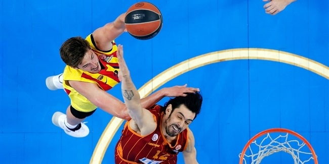 Top 16 Round 14 report: Barcelona handles Galatasaray, extends win-streak