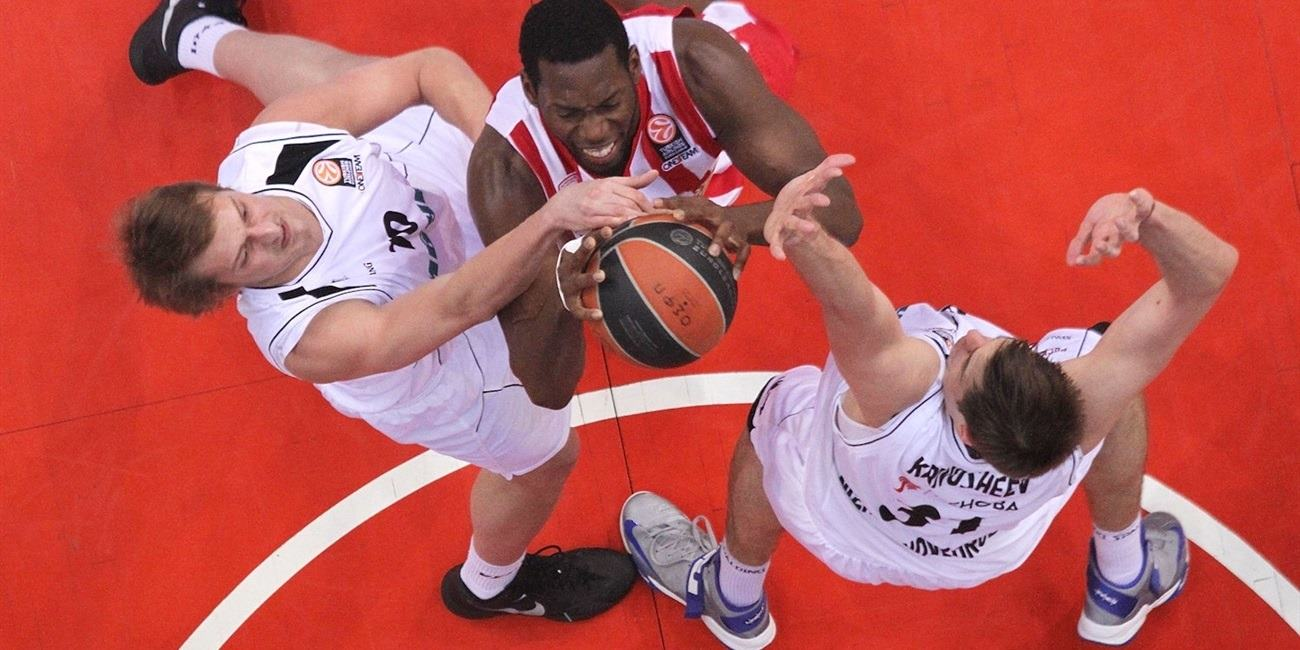 Top 16 Round 14 report: Olympiacos downs Nizhny in Top 16 finale