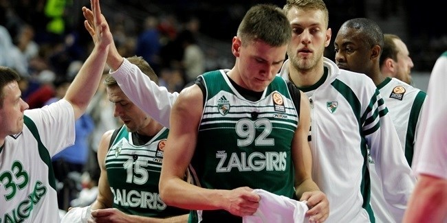 Top 16 Round 14, Real Madrid vs. Zalgiris Kaunas