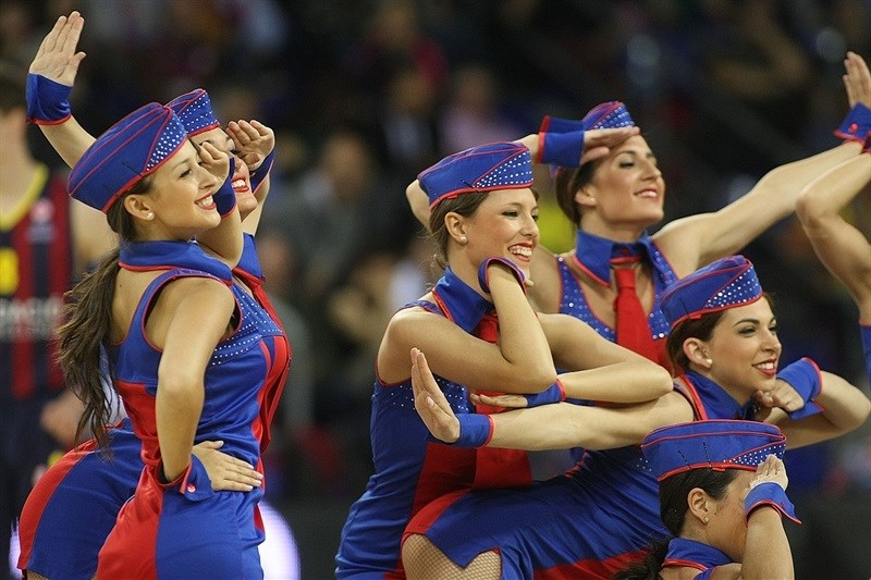 Cheerleaders - FC Barcelona - EB14