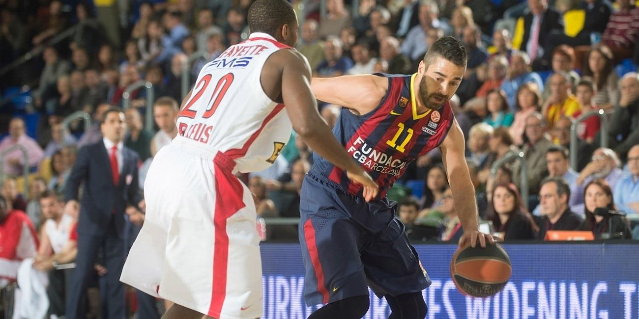 Playoffs Game 1 report: Barcelona downs Olympiacos in series opener