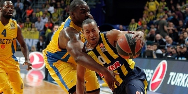 Playoffs Game 2 report: Fenerbahce Ulker dominates champs