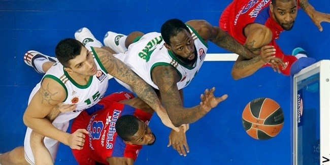 Playoffs Game 2 report: CSKA Moscow routs Panathinaikos again for 2-0 series lead