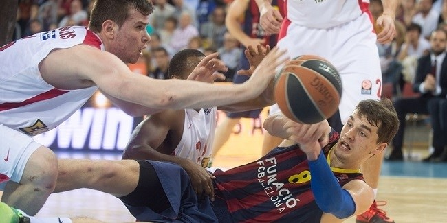 Playoffs Game 2, FC Barcelona vs. Olympiacos Piraeus