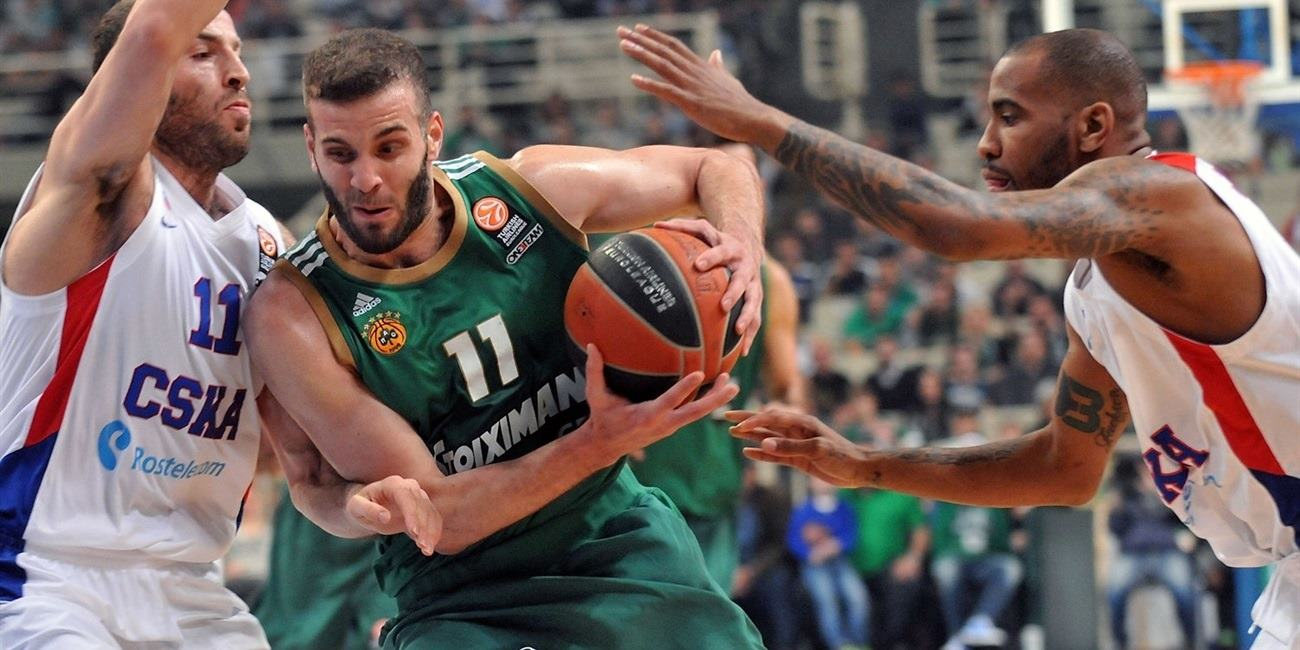 Playoffs Game 3 report: Panathinaikos breaks three-point record to stop CSKA 86-85