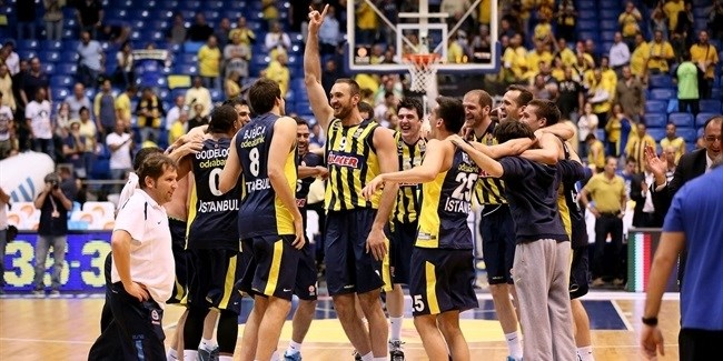 Fenerbahce sweeps Maccabi to reach its first Final Four!