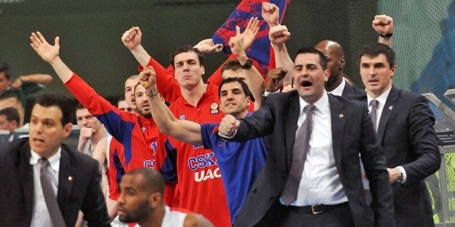 CSKA Moscow routs Panathinaikos to claim Final Four berth
