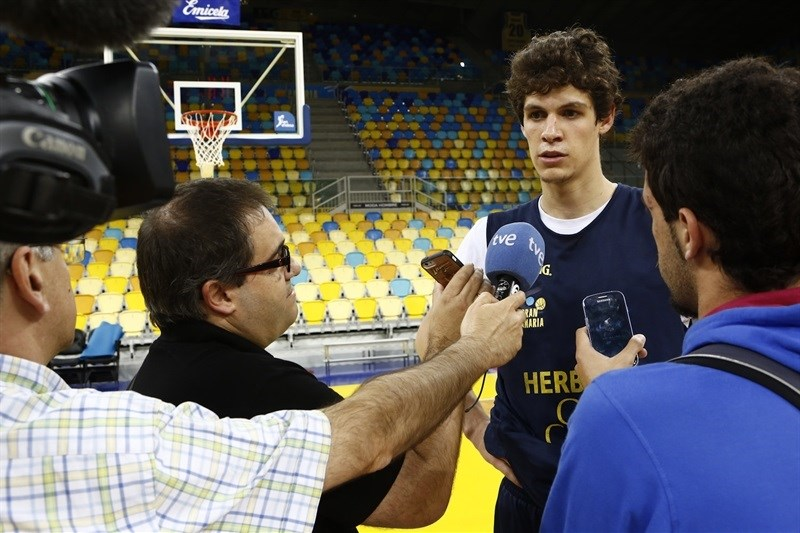 Oriol Pauli - Herbalife Gran Canaria Las Palmas - Media Day Finals 2015 in Las Palmas