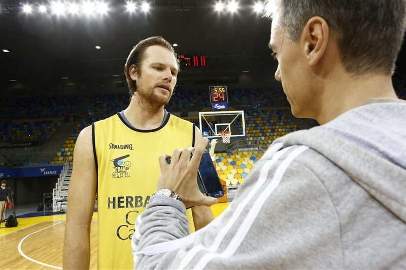 Brad Newley - Herbalife Gran Canaria Las Palmas - Media Day Finals 2015 in Las Palmas - EC14
