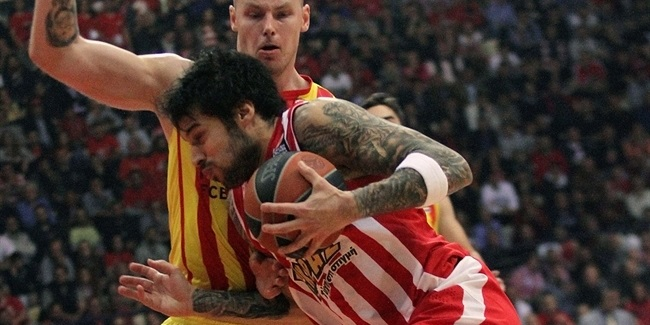 Playoffs Game 4 report: Olympiacos to Final Four as Printezis does it again