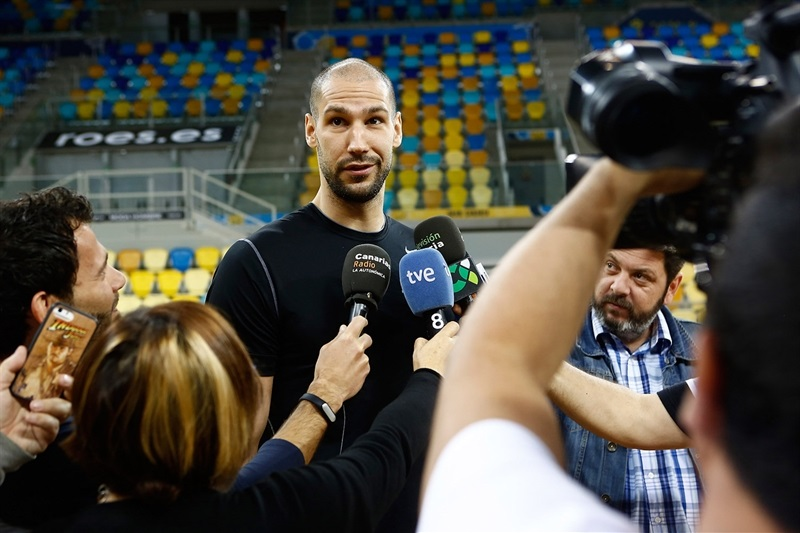 James Augustine - Khimki Moscow Region - Media Day Finals 2015 in Las Palmas - EC14