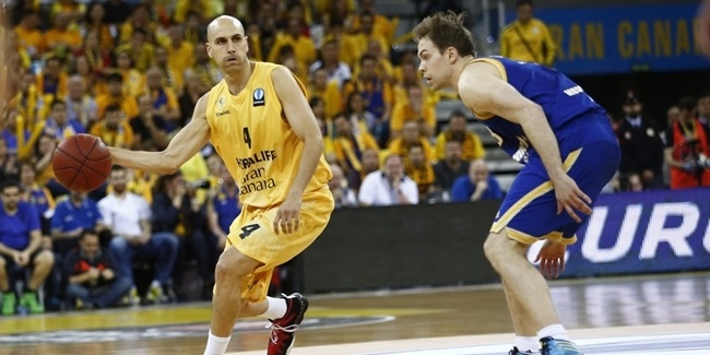 Gran Canaria re-signs veteran playmaker Oliver