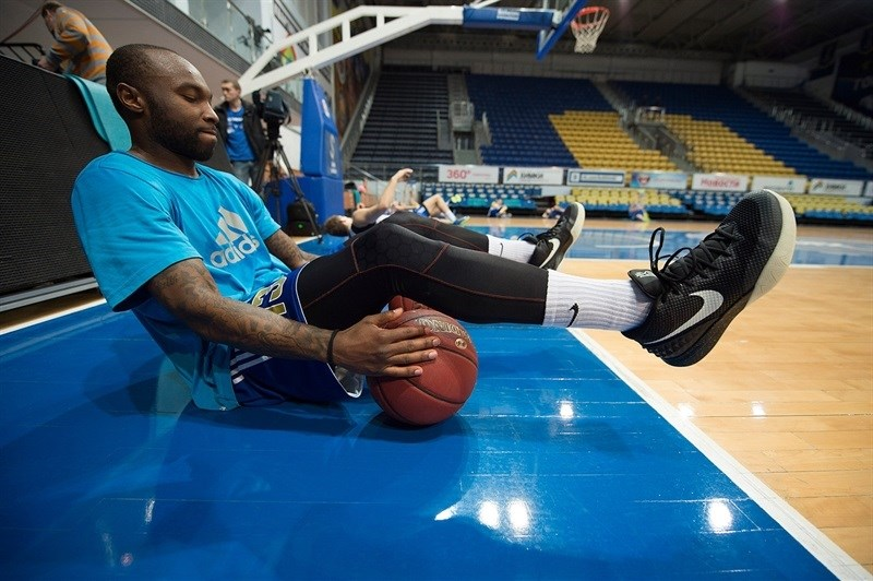 Tyrese Rice - Khimki Moscow Region - Practices Finals 2015 in Khimki, Moscow Region - EC14