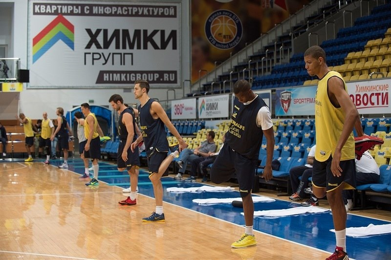 Players Herbalife Gran Canaria Las Palmas - Practices Finals 2015 in Khimki, Moscow Region - EC14