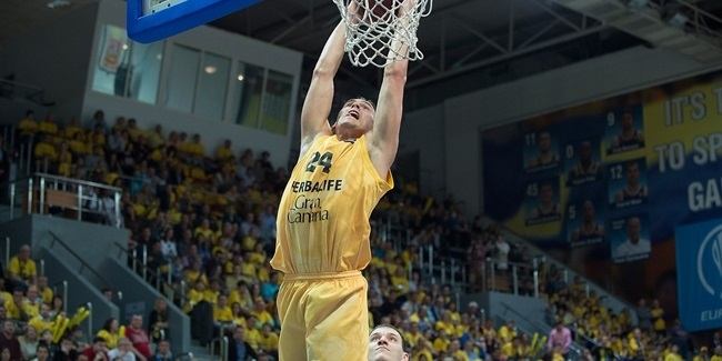 Gran Canaria's Kyle Kuric diagnosed with brain tumor