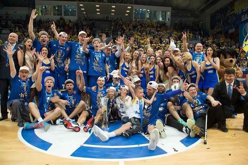 Khimki Moscow Region champ Eurocup 2014-15 - Finals 2015 in Khimki, Moscow Region - EC14