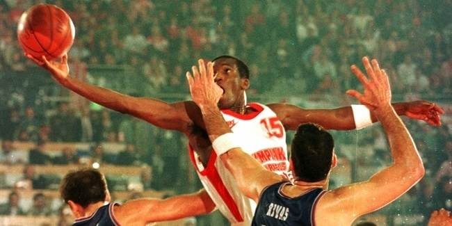 Club Legend: David Rivers, Olympiacos Piraeus