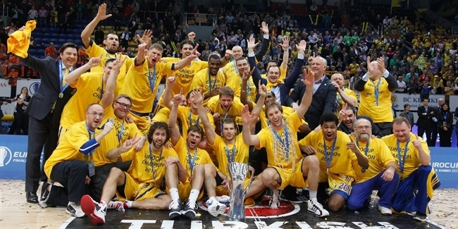 On This Day, 2012: Khimki lifts the EuroCup trophy