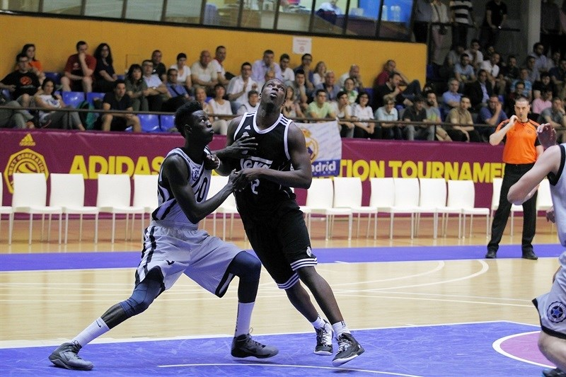 Samba Ndiaye - U18 Real Madrid - ANGT Final Four Madrid 2015 - JT14