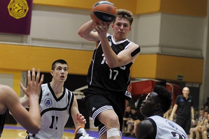 Luka Doncic - U18 Real Madrid - ANGT Final Four Madrid 2015 - JT14