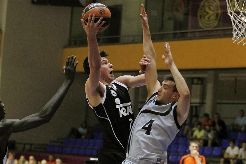 Domagoj Proleta - U18 Real Madrid - ANGT Final Four Madrid 2015 - JT14