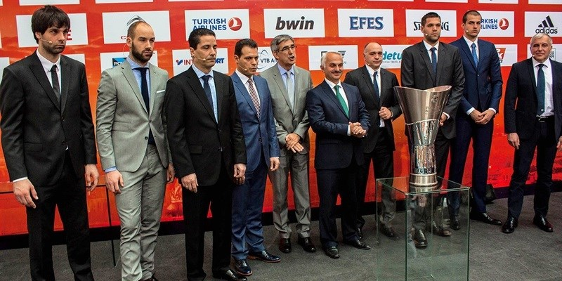 Opening Press Conference - Final Four Madrid 2015 - EB14