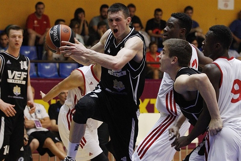 Rodions Kurucs - U18 VEF Riga - ANGT Final Four Madrid 2015 - JT14