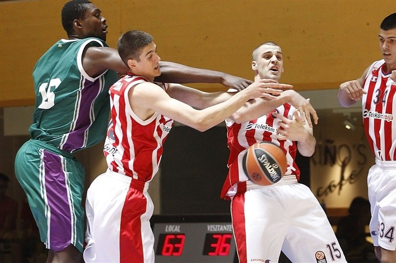 David Miladinovic - U18 Crvena Zvezda Telekom Belgrade - ANGT Final Four Madrid 2015 - JT14