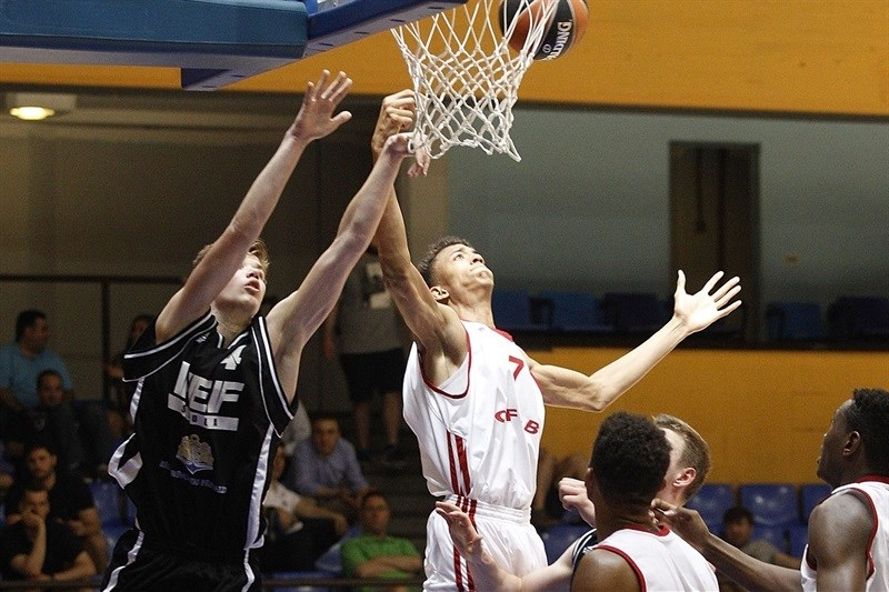 Jonathan Jeanne - U18 INSEP Paris - ANGT Final Four Madrid 2015 - JT14