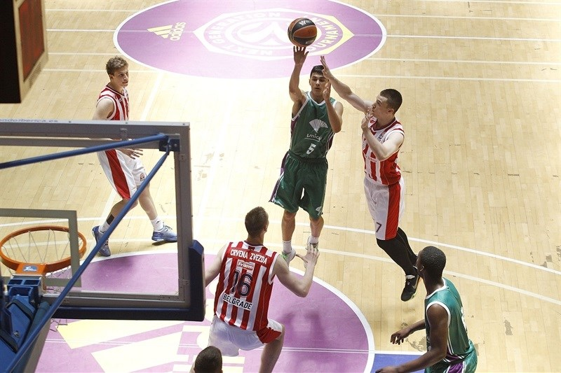 Carlos Corts - U18 Unicaja Malaga - ANGT Final Four Madrid 2015 - JT14