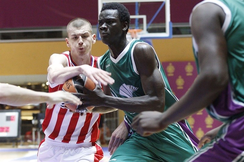 Ablaye Sow - U18 Unicaja Malaga - ANGT Final Four Madrid 2015 - JT14