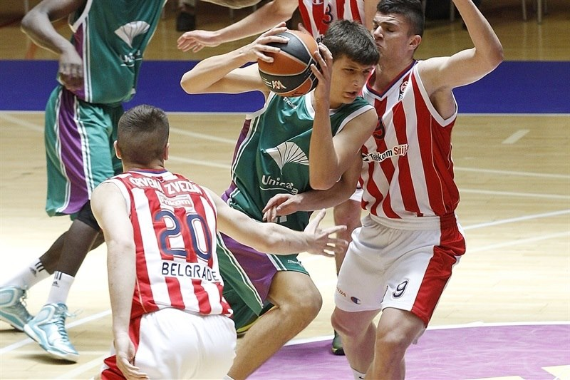 Rares Uta - U18 Unicaja Malaga - ANGT Final Four Madrid 2015 - JT14