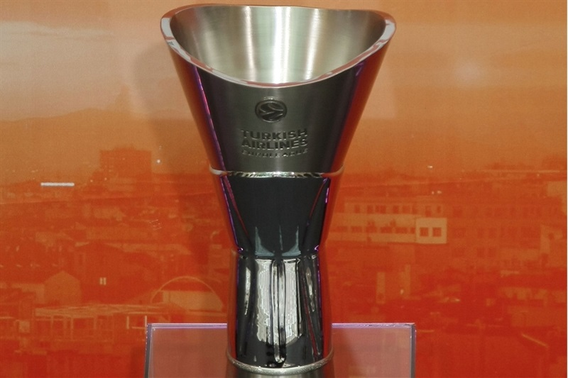 Euroleague champion trophy - Opening Press Conference - Final Four Madrid 2015 - EB14