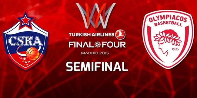Semifinal Preview Package: CSKA Moscow - Olympiacos Piraeus