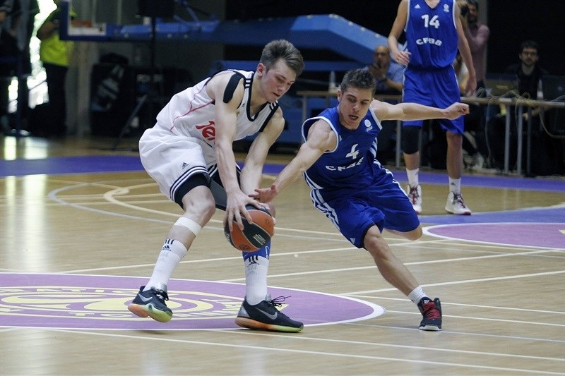 Arthur Leboeuf - U18 INSEP Paris - ANGT Final Four Madrid 2015 - JT14