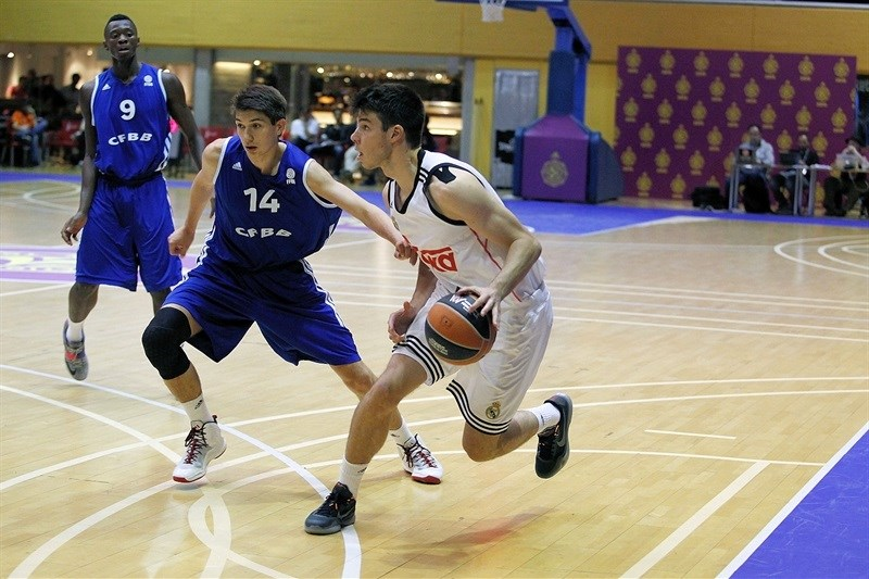 Jonathan Barreiro - U18 Real Madrid - ANGT Final Four Madrid 2015 - JT14