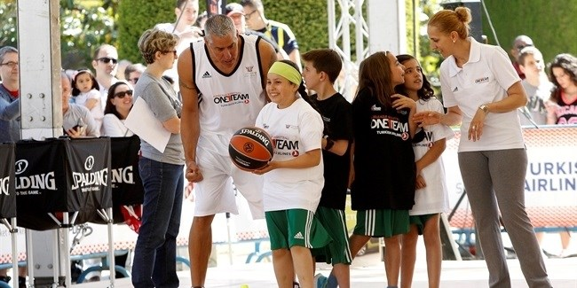 One Team activations during the 2015 Turkish Airlines Euroleague Final Four in Madrid