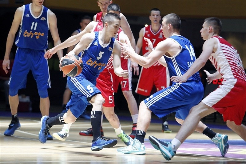 Adnan Arslanagic - U18 Spars Sarajevo - ANGT Final Four Madrid 2015 - JT14