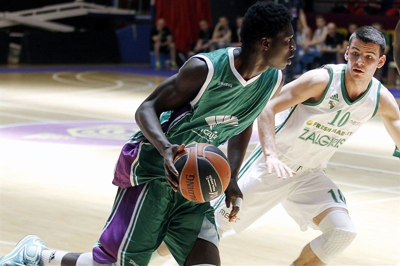 Viny Okouo - U18 Unicaja Malaga - ANGT Final Four Madrid 2015 - JT14