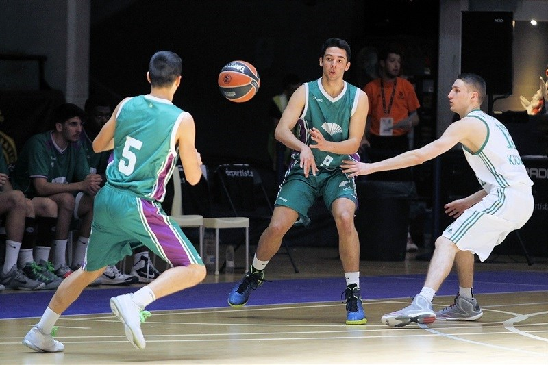 Ignacio Trujillo - U18 Unicaja Malaga - ANGT Final Four Madrid 2015 - JT14