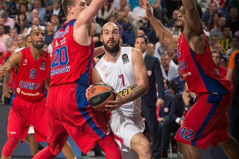 Vassilis Spanoulis - Olympiacos Piraeus - Final Four Madrid 2015 - EB14