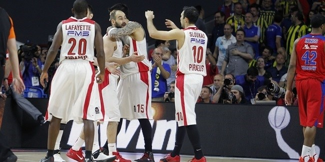 bwin Game Center: Semifinals - CSKA Moscow vs. Olympiacos Piraeus