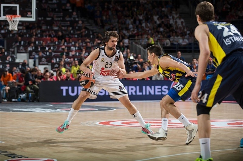 Sergio Llull - Real Madrid - Final Four Madrid 2015 - EB14