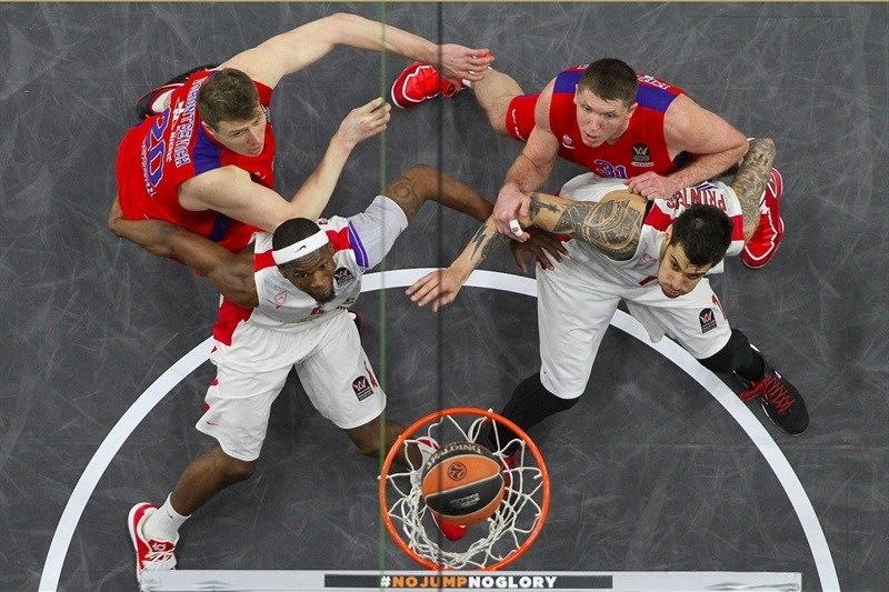CSKA Moscow vs. Olympiacos Piraeus - Final Four Madrid 2015 - EB14