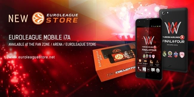 New at the Euroleague store: Euroleague mobile