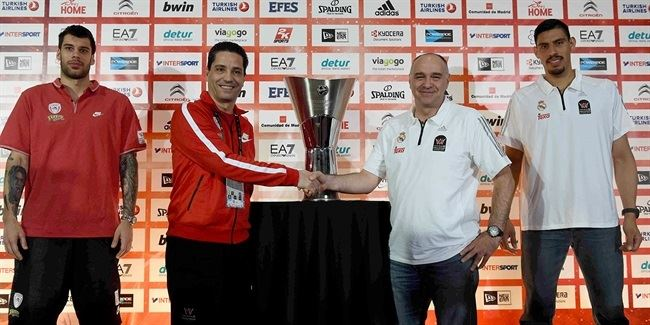 Final Four Madrid 2015 - Championschip Press Conference